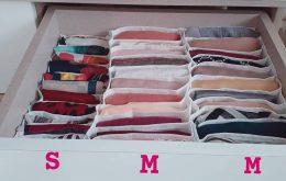 باکس نظم دهنده لباس